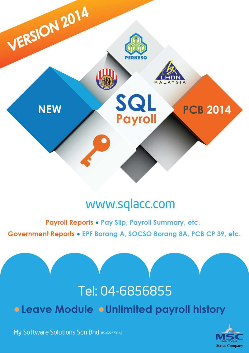 SQL Payroll Brochures